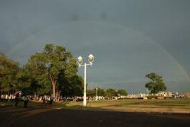 大きな虹も出ました!