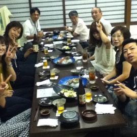★ メンバーとの楽しい食事会 ★