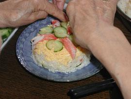 ちらし寿司ですな