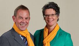 """Böing und Schmidt sind sich einig: """"Wir kandidieren für den Kreistag, um die Zukunft unserer Stadt im Kreis Wesel aktiv mitzugestalten."""""""
