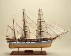 Maquette de la Némésis (Musée de Nantes)