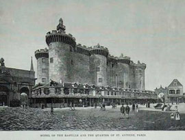Reconstruction of the Bastille for the 1889 World's Fair, Paris