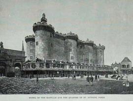 Reconstruction of the Bastille for the 1889 World's Fair, Paris