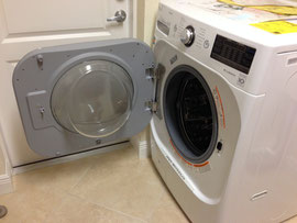 Washer opens Left