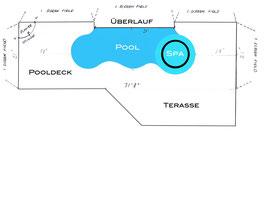 Pool Plan Villa Coral Laguna