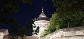 Neutorturm mit Stadtmauer (Neutormauer) ©UweMarquart
