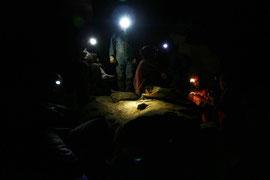 Rast in der Pál-völgyi-barlang