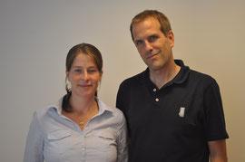 Die Praxisinhaber Stefanie und Jan-Martin Erich