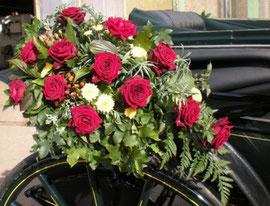 Blumenschmuck für den Landauer