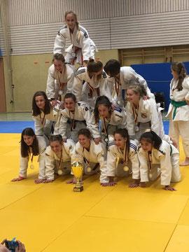 Judo Länderwettkampf Backnang der Altersklasse u15 m+w