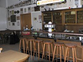 Gastrobereich des Vereinsheimes