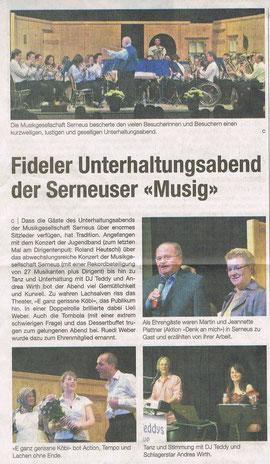 Klosterser Zeitung 23. April 2011