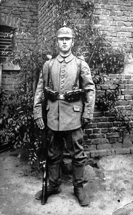 Frontkämpfer Julius Braunschweiger