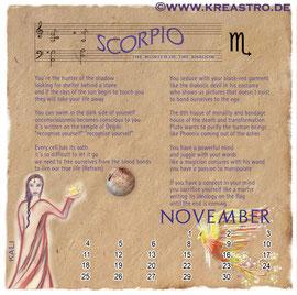 Cosmologia Booklet - Scorpio