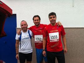 De izq. a der. Juan Valera, Kiki Somé y Agustín Castro. PINCHA MÁS FOTOS.