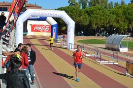 Danel Zamorano entrando en meta, Pincha más fotos.