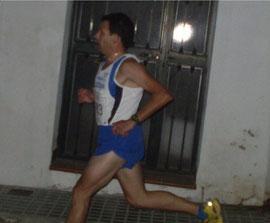 Francisco Roldan, en un momento de la prueba.