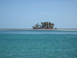 Small island off of Bimini