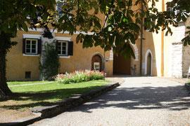 Der Arkadenhof im Ordensschloss