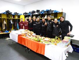 Frühstück bei Dynamo Dresden
