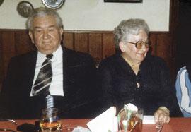 Alfons Teuber und seine Schwester Hildegard