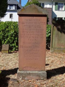 Hermann Weinberg Grab Nr.