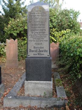David Jawitz Grab Nr. 26