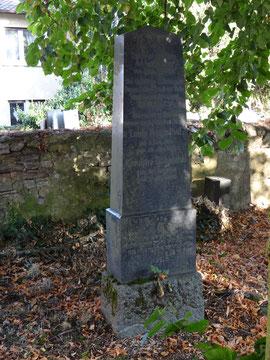 Louis und Karoline Rosenthal Grab Nr. 6