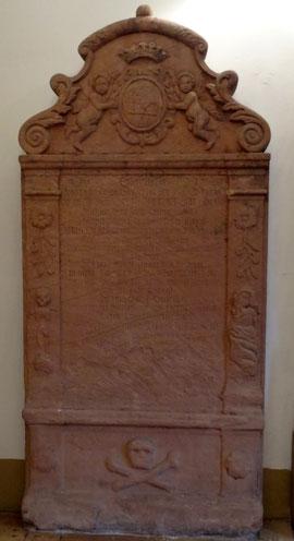 Grabstein von Georg Melchior Langsdorff