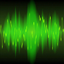 sound wave © clearviewstock