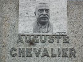 Cimetière de Domfront, Orne ; tombe d'Auguste Chevalier
