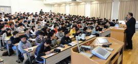 第1回講義(2012.4.12):科学ジャーナリスト 餌取章男 氏