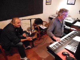 Met Egbert Meyers en Harro Wimmenhove