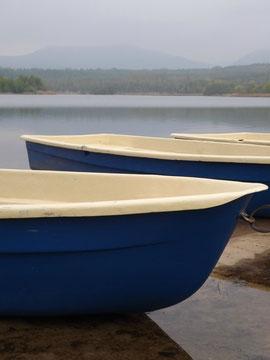 Boote am Olbersdorfer See