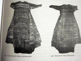 Kleid der Heiligen Klara