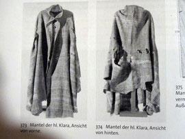 Mantel der Heiligen Klara