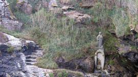 Statue des heiligen Gildas