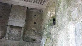 Château de Suscinio, Wohnräume im Westflügel
