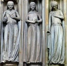 Jungfrauen am Magdeburger Dom