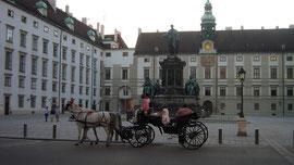 Wiener Hofburg, Leopoldinischer Trakt und Amalienburg