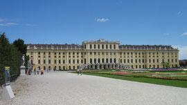 Schloss Schönbrunn, Parkseite