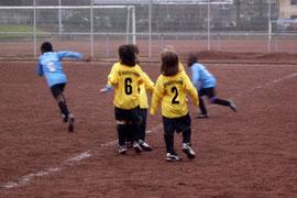 3:1 siegten die Bambini 1 bei Tgd. E.-West (Foto: m.d.)