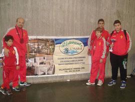 Gli atleti messinesi presenti a Chianciano