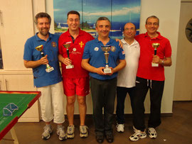 I partecipanti al torneo Veteran