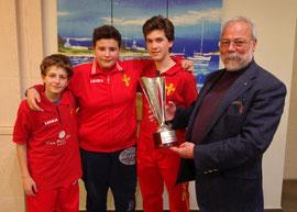 Il Messina Table Soccer campione Regionale Primavera 2014