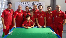 Il Messina Table Soccer alla Coppa Sicilia