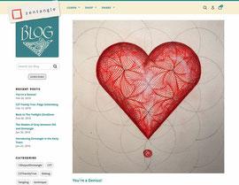 Zentangle.com Startseite