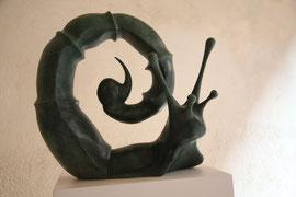 Opera in bronzo di Cesare Viola