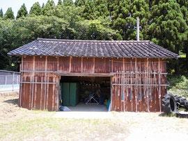 体育用具小屋