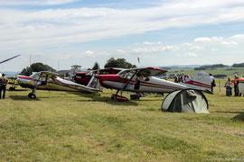 Teilnehmer des Classic Cessna-Meetings 2012